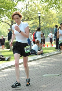 finishing q half-marathon