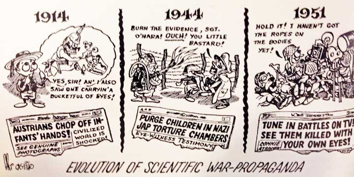 'HISTORICAL REVISIONISM' CARTOONSIn Doubt—the Fortean Society Magazine, 1951